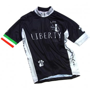 7ITA Liberty Cat Jersey Black