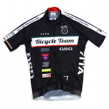 7ITA Army Bike Team Jersey Black