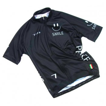 7ITA Neo Happiness Smile Jersey Black