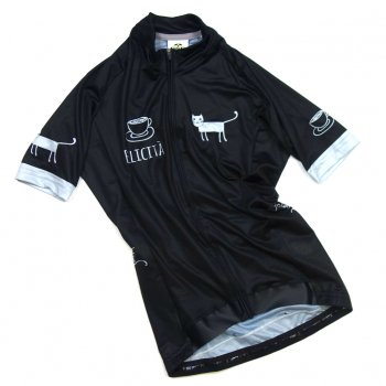 7ITA Cafe Cat Lady Jersey Black