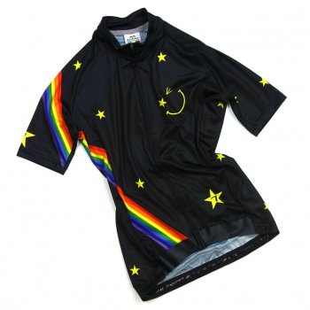 7ITA Star Smile Lady Jersey Black