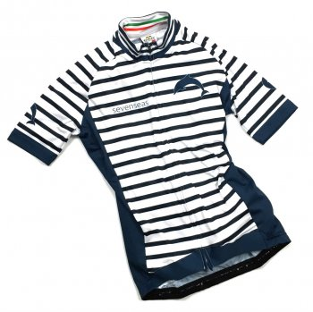 7ITA Sevenseas Stripe Lady Jersey White/Navy