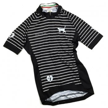 7ITA Strolling Cat Stripe Lady Jersey Black/Grey