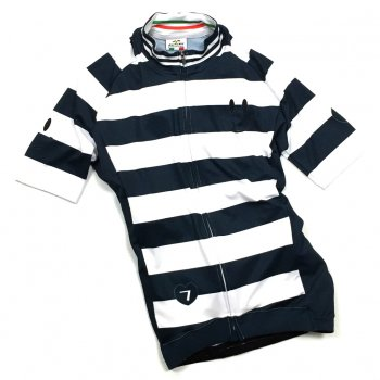 7ITA Smile Stripe Lady Jersey White/Navy