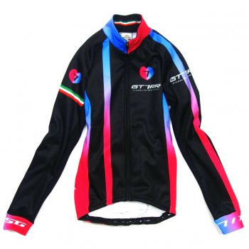 7ITA GT-7RR II Lady Jacket Black/Red
