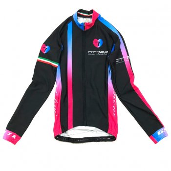 7ITA GT-7RR II Lady LS Jersey Black/Red