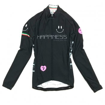 7ITA Neo Happiness Smile Lady LS Jersey Black