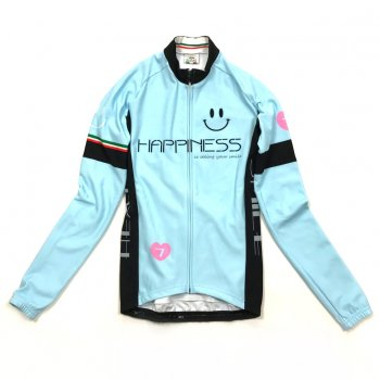 7ITA Neo Happiness Smile Lady LS Jersey Sky