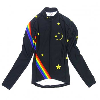 7ITA Star Smile Lady LS Jersey Black