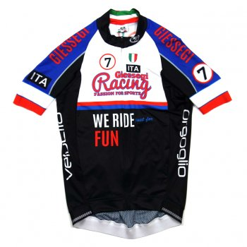 7ITA Seven Racing Jersey Black/Blue/Red