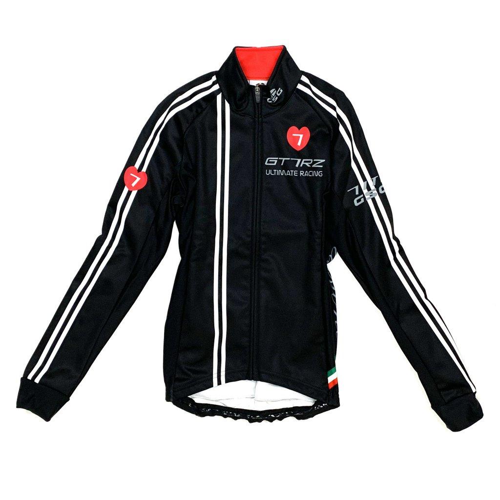 7ITA GT-7RZ Lady Jacket Black/Red