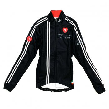 7ITA GT-7RZ Lady Jacket Black/Red