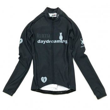 7ITA Daydreaming Cat Lady LS Jersey Graphite