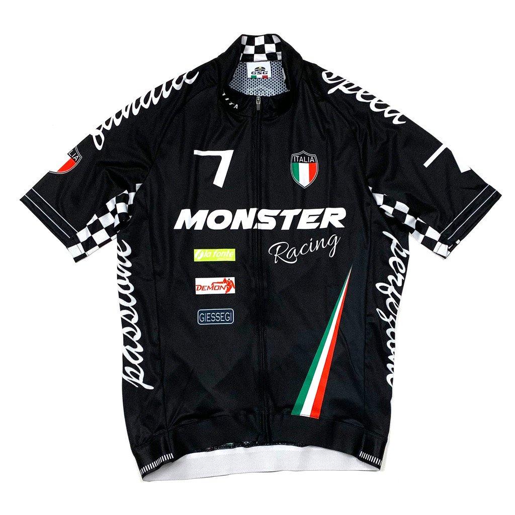 7ITA Seven Racing II Jersey Monster Black