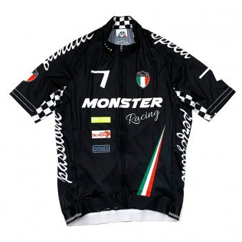 7ITA Seven Racing II Jersey Monster Black