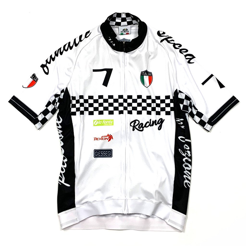 7ITA Seven Racing II Jersey White