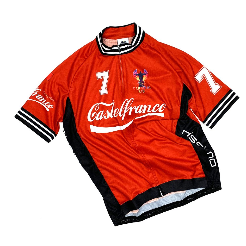 7ITA Castelfranco Jersey Red