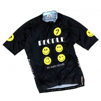 7ITA So Many Smile Jersey Black