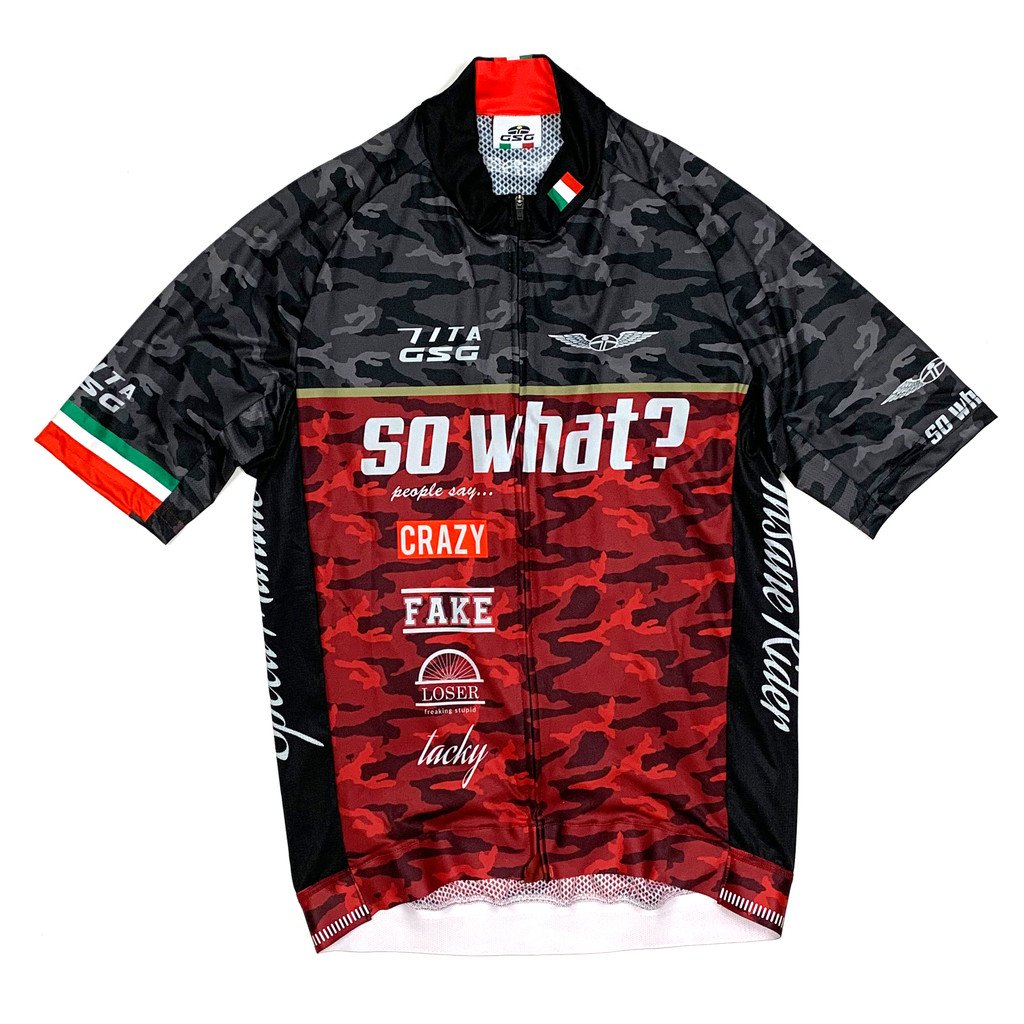 7ITA So What Jersey Black/Red