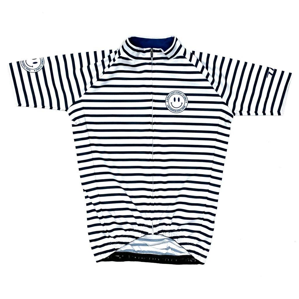 7ITA Stripe Kid Jersey White/Navy