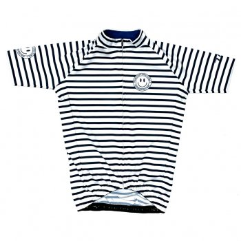 7ITA Stripe Kid Jersey White/Navy