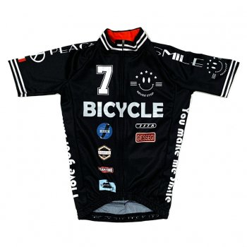 7ITA Smile Stadium Kid Jersey Black