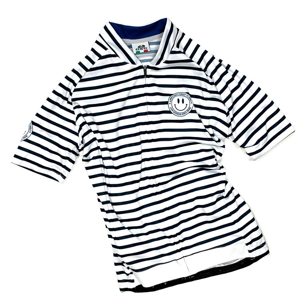 7ITA Stripe Lady Jersey White/Navy