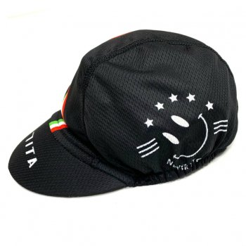 7ITA Smile Italy Summer Cap Black
