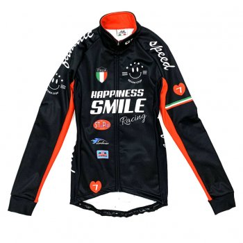 7ITA Racing Smile Lady Jacket Black/Red