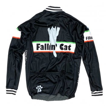 7ITA Fallin' Cat LS Jersey Black