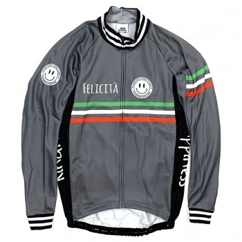 7ITA Classic Smile LS Jersey Brown