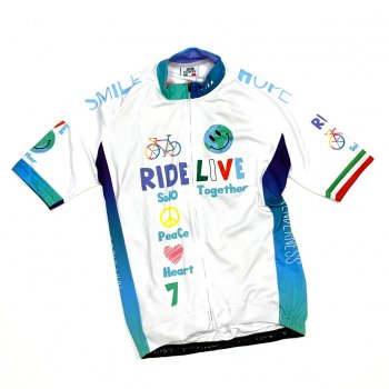 7ITA The Earth Smile Jersey White