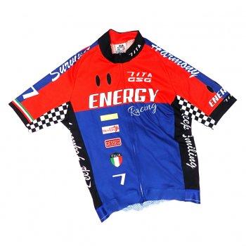 7ITA Racing III Jersey  Red/Navy