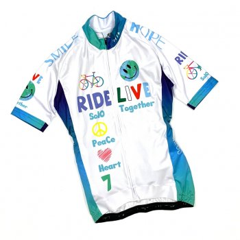 7ITA The Earth Smile Lady Jersey White