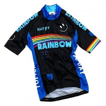 7ITA  Rainbow Smile III Lady Jersey Black