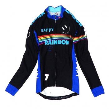 7ITA Rainbow Smile III Lady LS Jersey Black
