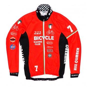 7ITA Bicycle Racing Club Jacket Red