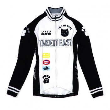 7ITA Cat Lady LS Jersey White/Black