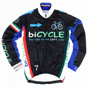 7ITA biCYCLE Jacket Black