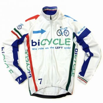7ITA biCYCLE Jacket White