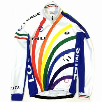 7ITA Rainbow Smile Jacket White