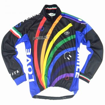 7ITA Rainbow Smile Jacket Black