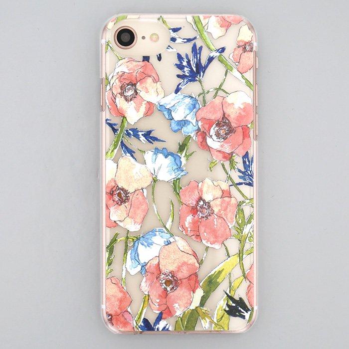 フェミニンボタニカル(ピンク)/(iPhone8/7/6s/SE兼用)