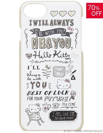 HELLO KITTY / MIX STYLEラメケース(iPhone8/7/6s)