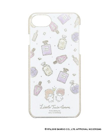 LITTLE TWIN STARS / 水彩ラメケース(iPhone8/7/6s)