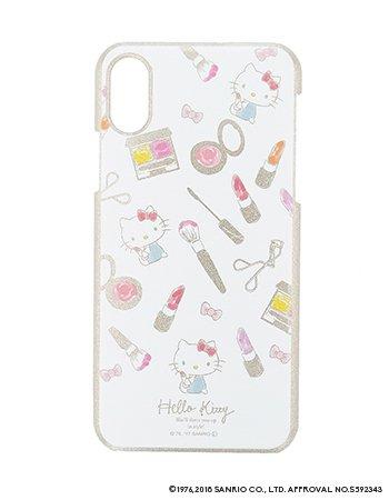 HELLO KITTY / 水彩ラメケース(iPhoneX/XS)