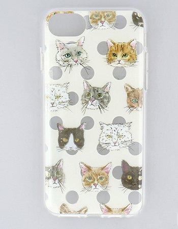 Cat Face  / ハイブリッドケース(iPhone8/7/6s)