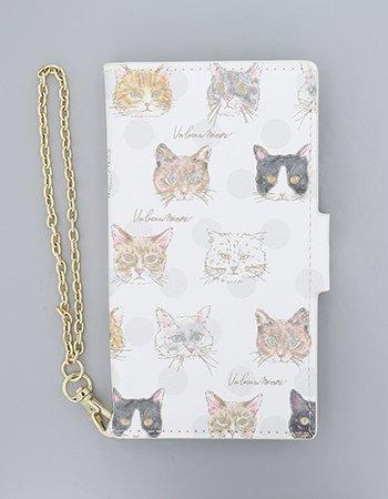 Cat Face  /  ブックレットケース(マルチ対応)