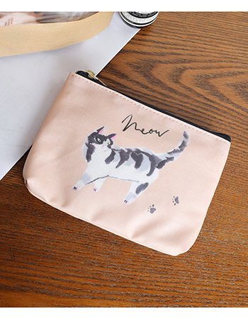 Neow Cat (PK)  /  ポーチ(フラットミニ)