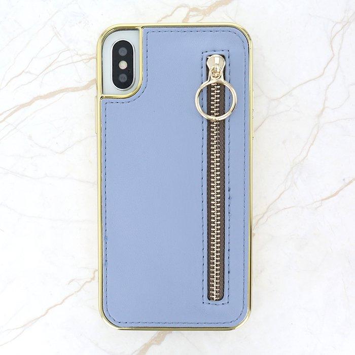 ジッパー BL / 異素材ケース(iPhoneXS/X)